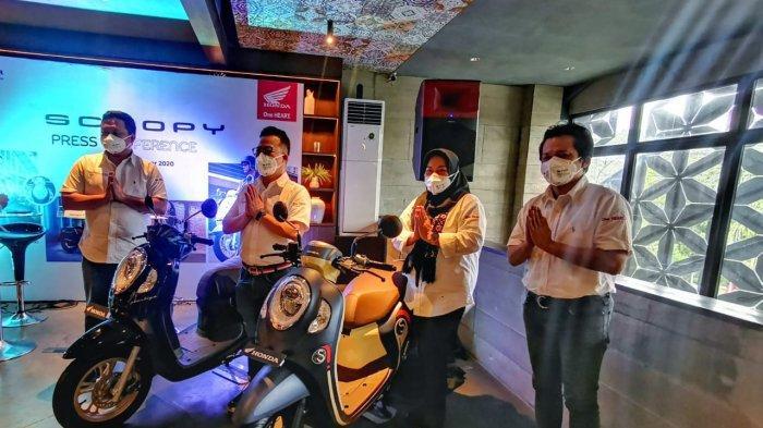 Resmi Mengaspal, All New Honda Scoopy Siap Jadi Trendsetter di Makassar