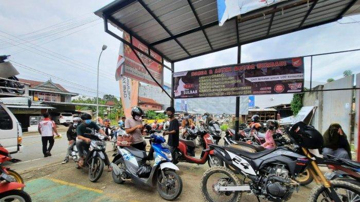 Sulbar Bangkit, Layanan Servis Gratis Honda Disambut Antusias Warga