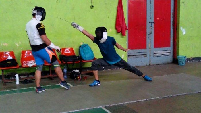 Muhammad Irfan Ibrahim Atlet Anggar Sulsel Optimis Raih Medali PON Papua