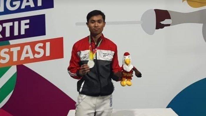 Profil Andi Muhammad Rizky Al Mufarid Atlet Anggar Sulsel, Ingin Lampui Capaian di PON Jabar