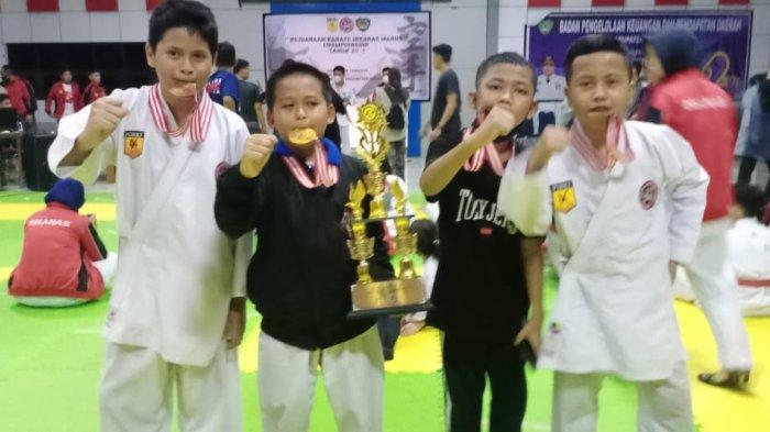 Inkanas Dojo Tribun Timur Boyong 14 Medali Emas di Kejurda Maros