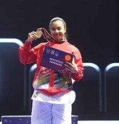 Sulsel Boyong 3 Medali di Hari Pertama Karate PON XX Papua, Krisda Putri Aprilia Sumbang Emas