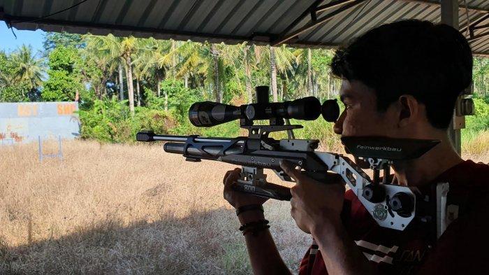 Atlet Tembak Pinrang Pilih Wakili Kabupaten Wajo di Pra Porpov