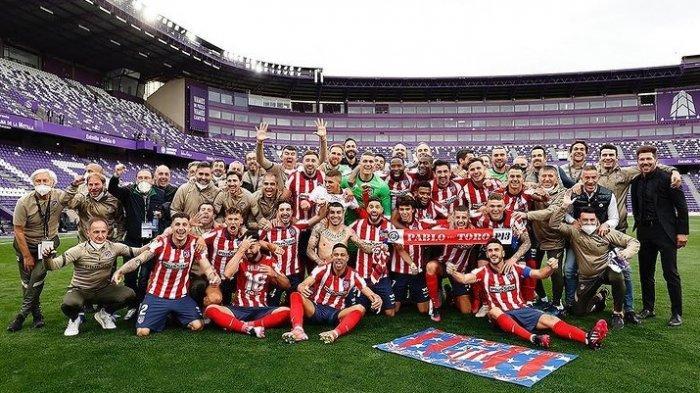 Atletico Madrid Juara LaLiga/Liga Spanyol 2020/2021, Luis Suarez Sindir Mantan Tim Barcelona