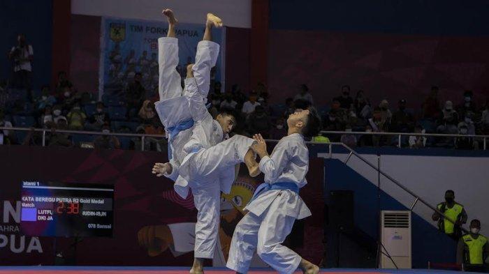 5 Kali PON Berturut-turut Sabet Emas, Sulsel Raja Karate Kata Beregu Putra