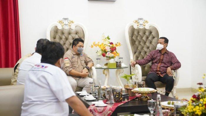 Pengelola Geopark Maros Pangkep Audiensi dengan Plt Gubernur Sulsel Andi Sudirman, Ini yang Dibahas