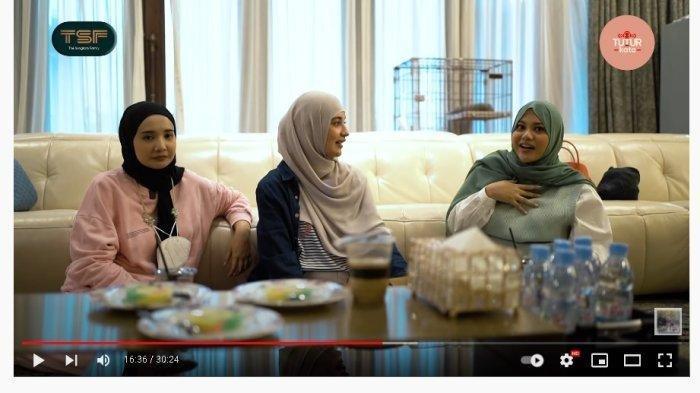 Ternyata Ini Alasan AurelHermansyah Pakai Hijab, Diungkap saat Bertemu ShireendanZaskia Sungkar