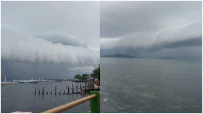 Baru Saja Muncul Awan Mirip Tsunami di Polman Sulbar, Kenapa Bisa Terjadi dan Tanda Apa? Kata BMKG