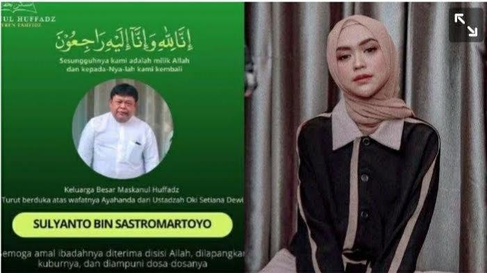 Kronologi & Fakta Wafatnya Ayah Ria Ricis, Tubuh Sudah Dingin Saat Ditemukan