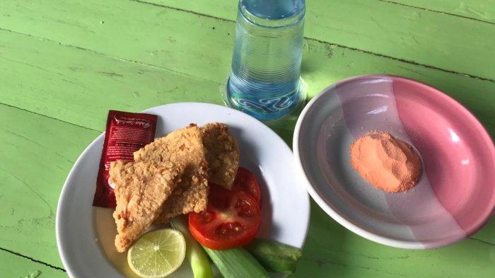 ayam iris crispy Makassar di Komp PU Mallengkeri Baru