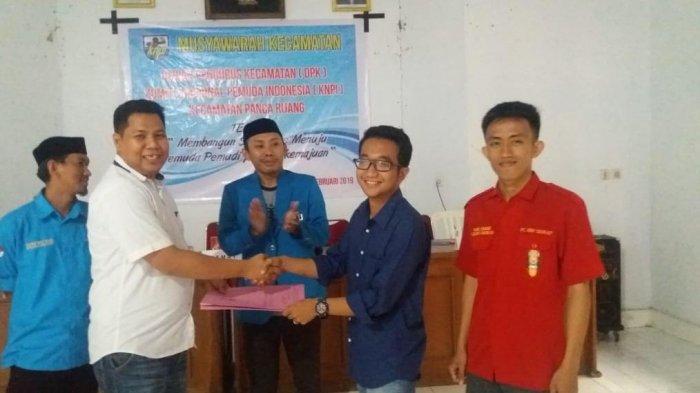 Azhar Kasim Pimpin KNPI Kecamatan Pancarijang Sidrap