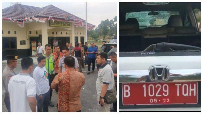 Rombongan Wakil Gubernur / Wagub Kabur Dikepung Massa, Mobil Dirusak, Satpol PP Luka, Kronologi