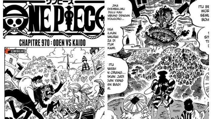 Baca Komik One Piece Chapter 970 Disini Lewat Hp Lengkap Bahasa Indonesia Duel Oden Vs Kaido Dimulai Halaman 2 Tribun Timur