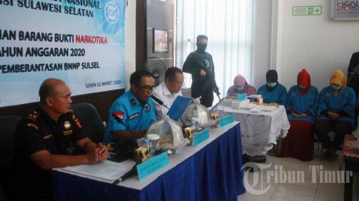 FOTO: BNNP Sulsel Musnahkan Sabu-sabu Seberat 3 Kilogram - badan-narkotikas2.jpg