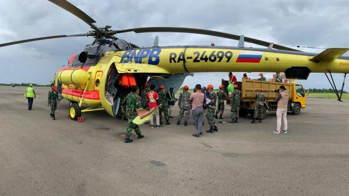 BNPB Kembali Kerahkan 4 Helikopter untuk Distribusi Bantuan ke Korban Gempa Sulbar