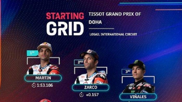 Live Trans7 Mulai Pukul 21.00: Link Live Streaming MotoGP Doha 2021 via Vidio.com & Usee TV