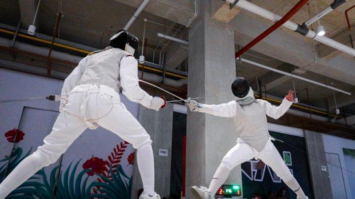 Penggiat Olahraga Anggar Kini Bisa Latihan di Nipah