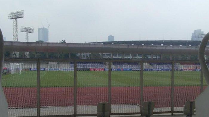 Stadion Madya Disterilkan Jelang Kick Off PSM Makassar vs Madura United