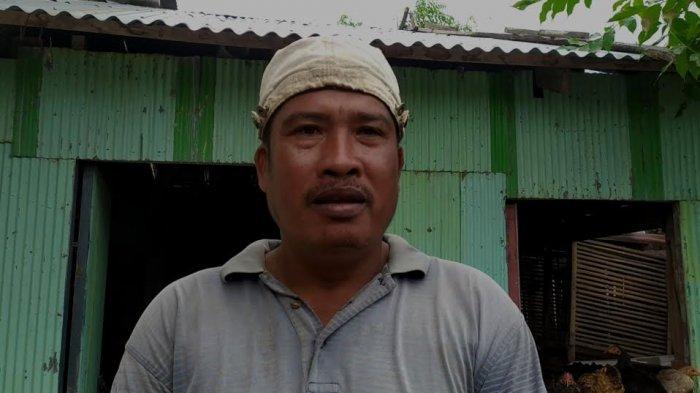 Kisah Pilu Baharuddin,Belum Setahun Anaknya Meninggal Kecelakaan, Kini Rumahnya di Bantaeng Terbakar
