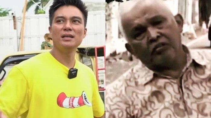 Tanpa Publikasi, Baim Wong Datangi Kediaman Kakek Suhud dan Meminta Maaf