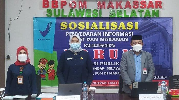 BBPOM Makassar Terapkan Asas Transparansi Pada Pelayanan