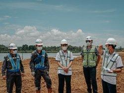 Kunjungi Proyek Kereta Api Sulsel di Barru, Kepala Balai Perkeretaapian: Semoga Selesai Tepat Waktu