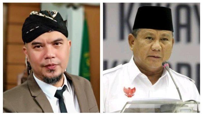 Balasan Ahmad Dhani di Penjara saat Tahu Prabowo Jadi Menteri Presiden Jokowi, Dulu Tim Oposisi