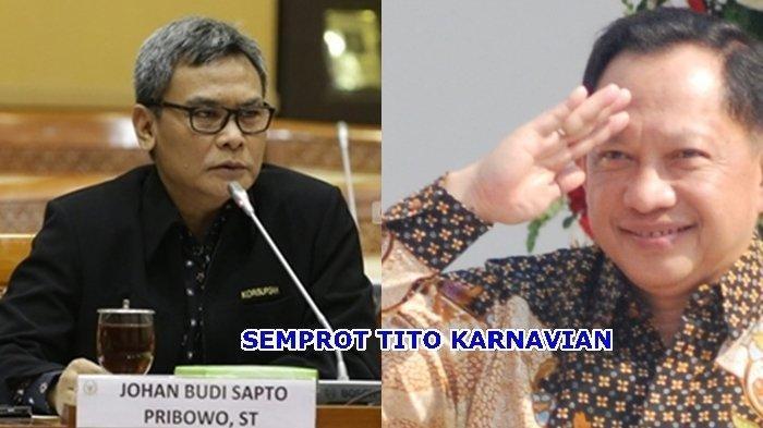 Ada Apa? Mendagri Jenderal Polisi Tito Karnavian Minta Maaf ke Mantan Jubir Jokowi Johan Budi