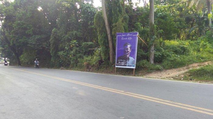 Baliho Wabup Thahar Rum Disebar, 'Luwu Utara Rumah Kita' Dia Pertama?