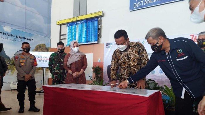 Bandara Hasanuddin Kini Area Wajib Vaksin Covid-19