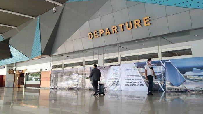 Masa PPKM, Jumlah Penumpang Bandara Hasanuddin Turun 48 Persen
