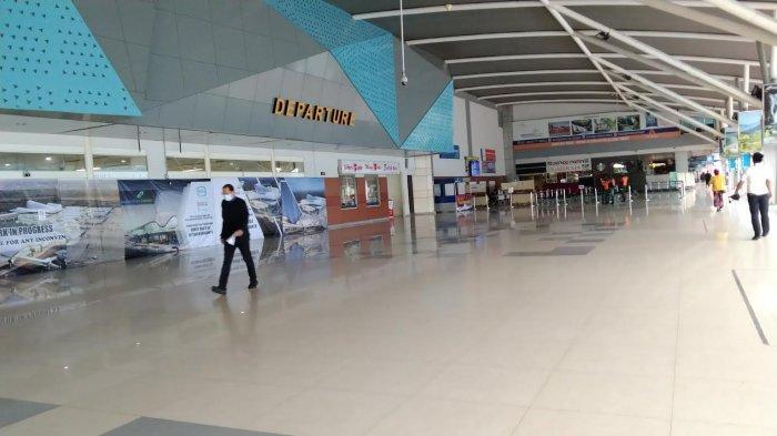 BREAKING NEWS: Hari Pertama Peniadaan Mudik, Bandara International Sultan Hasanuddin Lengang