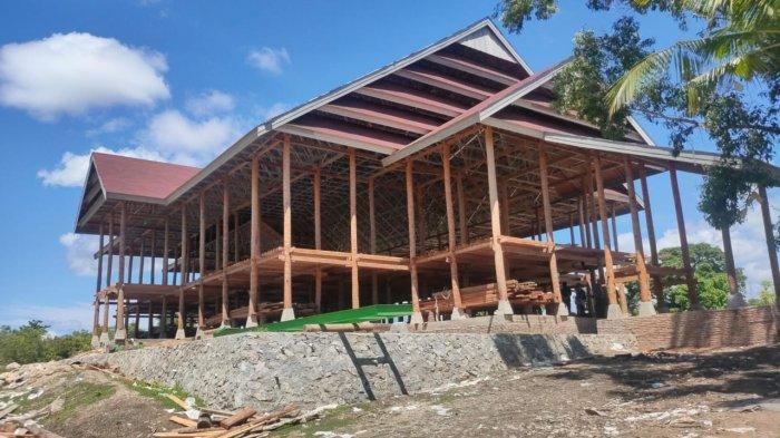 Proyek Taman Budaya Buttu Ciping Dikebut, Target Jadi Lokasi Perayaan HUT ke-17 Sulbar