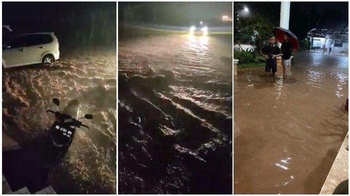 BREAKING NEWS: Banjir di Bantaeng, Rujab Bupati Tergenang, Paling Parah di Perbatasan Jeneponto