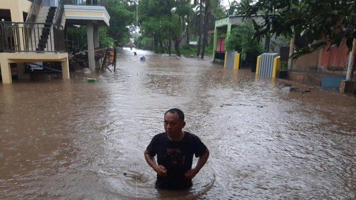 30 Rumah di Bentenga Jeneponto Terendam Banjir
