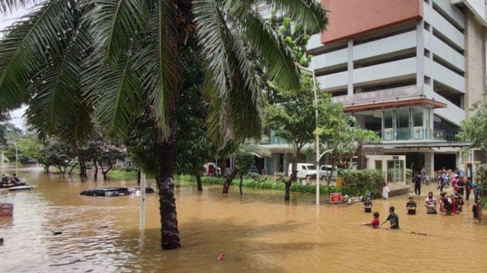 Banjir Jakarta 2021 Jadi Perhatian Dunia Lewat Media Asing Asal Qatar, India, Malaysia dan Singapura