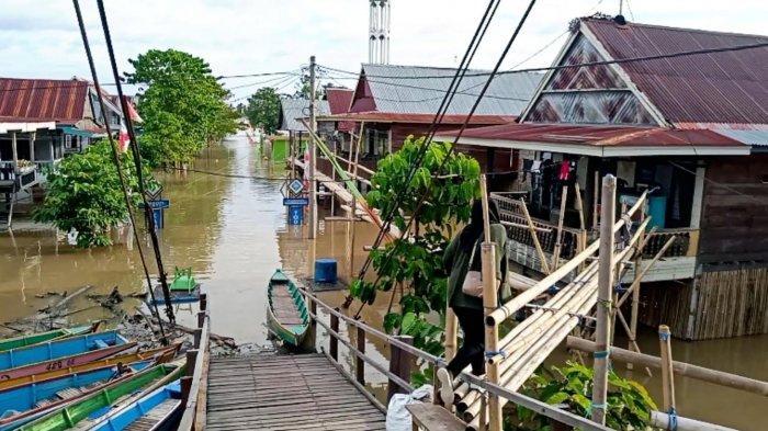 Update Banjir Wajo, 8.862 Jiwa Terdampak Banjir di 11 Kelurahan di Kecamatan Tempe