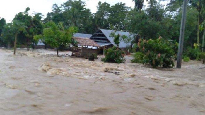 Kecamatan Lamasi Timur Luwu Diterjang Banjir, 5 Desa Terendam dan Akses Jalan Terputus