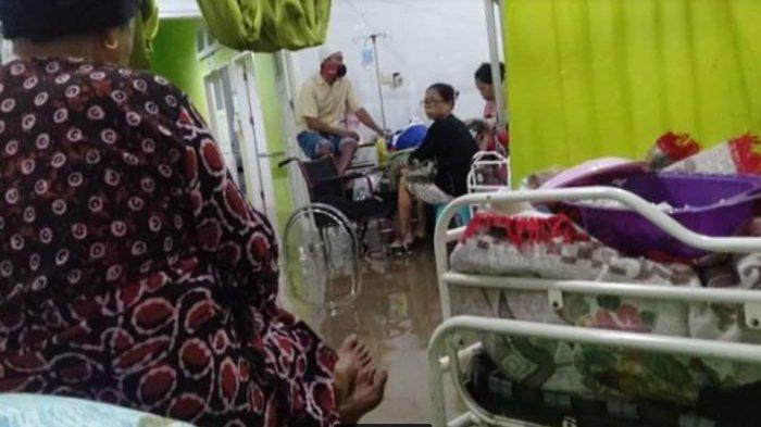 BREAKING NEWS: Hujan Deras, Rumah Sakit Umum Daerah Sinjai Kebanjiran