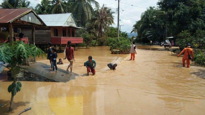 Jelang Lebaran, 117 Rumah Terendam Banjir di Pitumpanua Wajo
