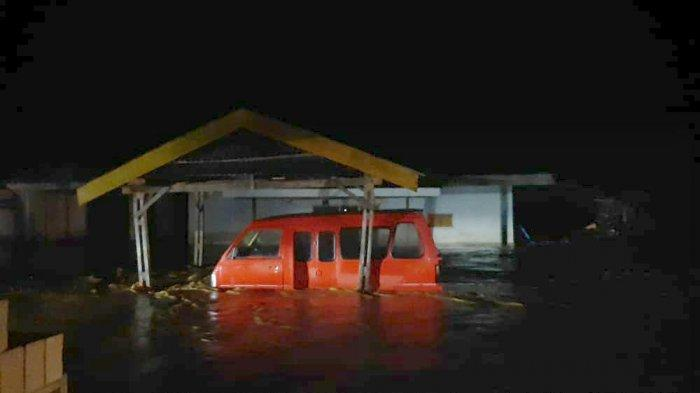 Banjir Rendam Sejumlah Desa di Luwu, 2 Rumah Hanyut