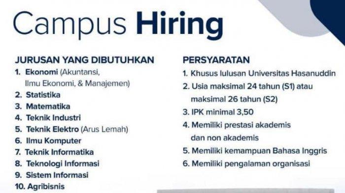 LOWONGAN KERJA BUMN-Bank Indonesia Cari Pegawai Lulusan Unhas S1/S2 10 Program Studi ini,Cek Syarat!