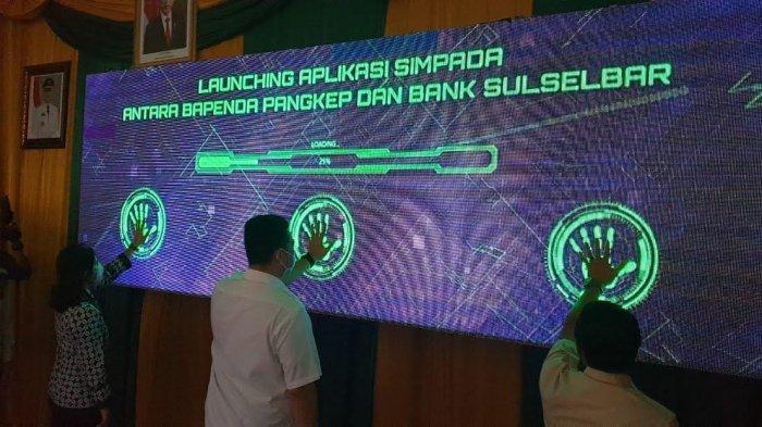 Bank Sulselbar Luncurkan Aplikasi SIMPADA di Pangkep