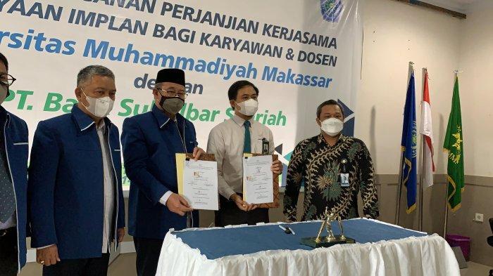 Bank Sulselbar Syariah Kerjasama Unismuh Makassar: Hadirkan Layanan Pembiayaan Bagi Karyawan & Dosen