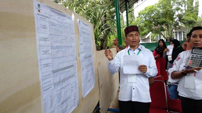 Paslon IlhamSAH Menang di TPS Depan Rujab Bupati Bantaeng