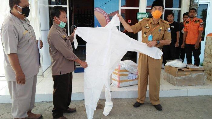 Pemprov Sulbar Terima Bantuan 500 APD dari PT Unggul Widya Teknologi Lestari