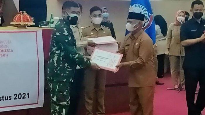 Pemkab Enrekang Dapat Bantuan 400 Paket Sembako PPKM dari Pemprov Sulsel