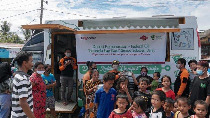 Federal Oil Bantu Korban Gempa Sulbar dan Kalimantan Selatan