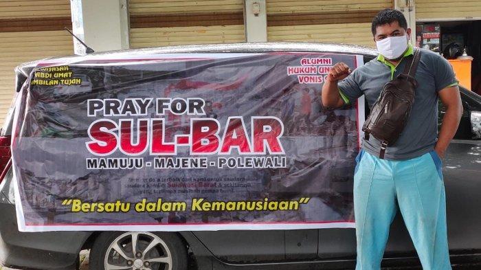 Korban Gempa di Mamuju Sulbar Terima Bantuan dari Alumni 97 Hukum Unhas