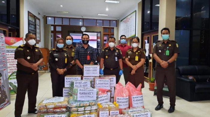 Besok, Bantuan Kejari Tana Toraja Disalurkan ke Korban Gempa Sulbar